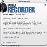 InfraRecorderで手軽にCD/DVDイメージを扱う